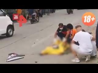 Видео с места гибели блогера Насти Тропицель на Бали