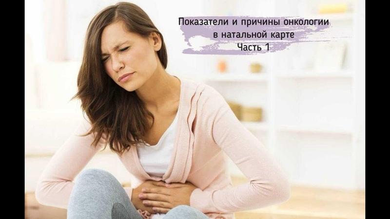 Показатели и причины онкологии в Астрологии Часть 1