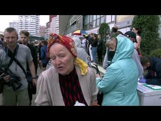 Euronews о задержаниях на Комаровке и выборах в Беларуси