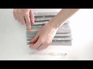 Как сшить маску без швеинои машинки
