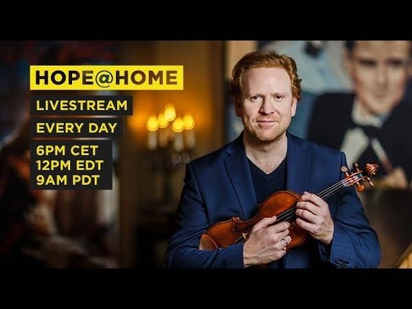 8 Hope@Home Till Brönner The daily live house concert with Daniel Hope on Deutsche Grammophon
