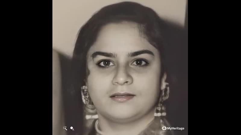 Lateef Fatima Khan обработка фото с помощью сервиса MyHeritage