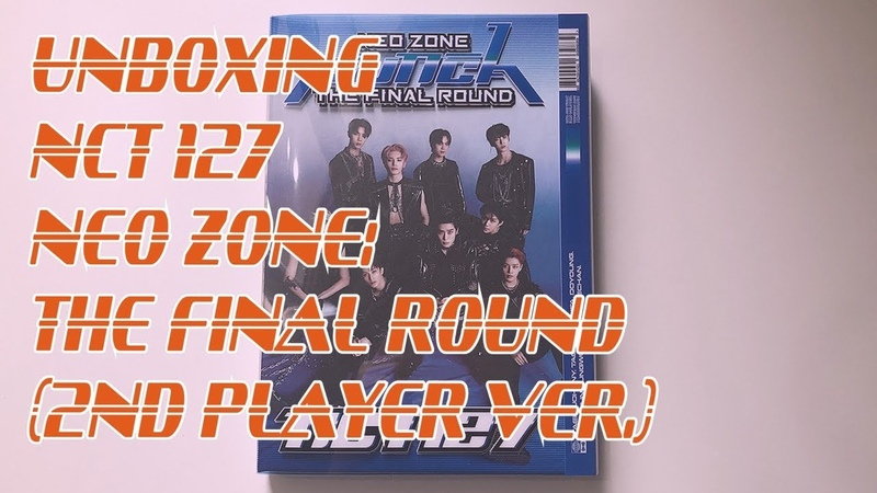 UNBOXING NCT 127 엔시티 127 2nd Album Repackage Neo Zone The Final Round 산데이차sundaytea
