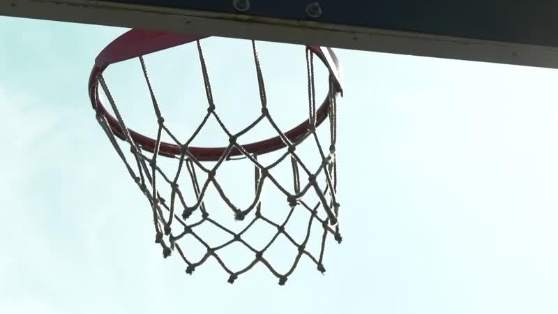 Баскетбольные площадки в парке Кашкадан
