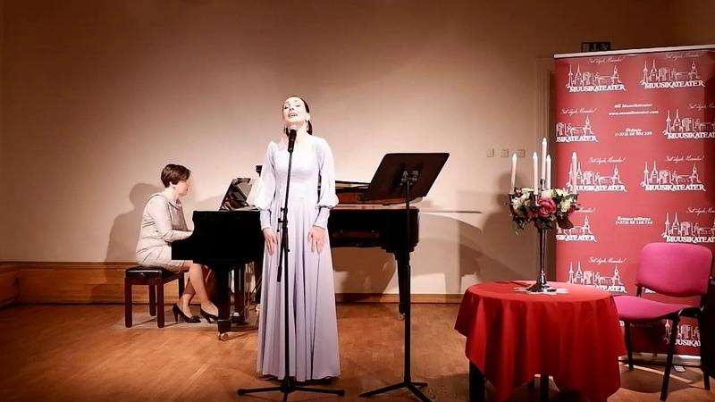 Мария Елизарова - «Звать любовь не надо» ( муз. И. Дунаевского, сл. А. ДАктиля)