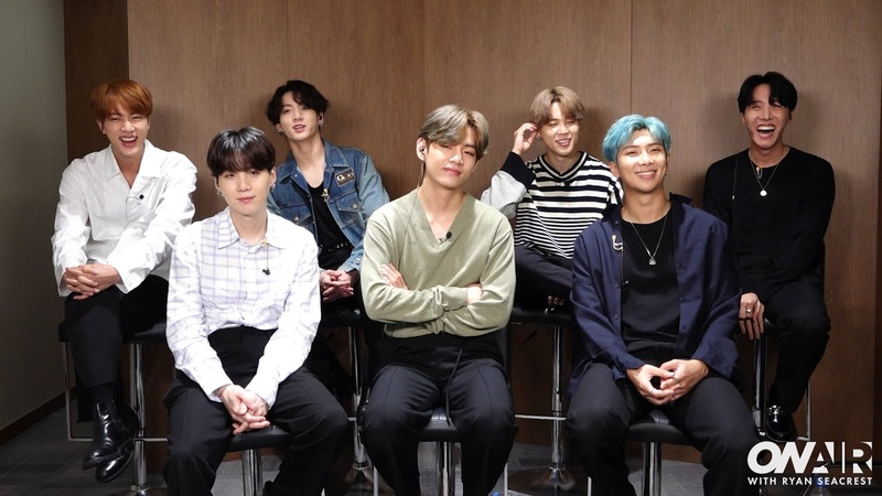 BTS Interview @ On Air With Ryan Seacrest