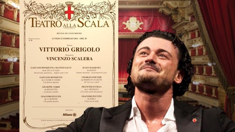 Recital di canto di Vittorio Grigolo