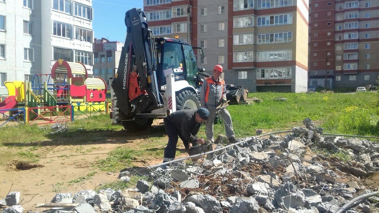 Утилизация бетонных плит улица Ульяновская дом 6