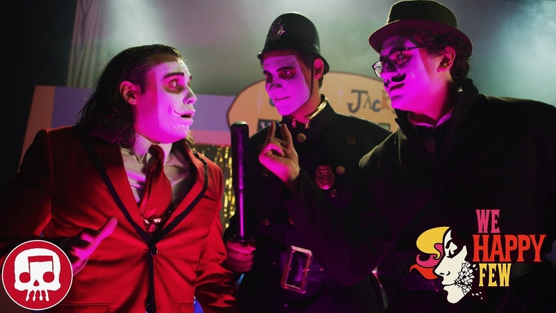 WE HAPPY FEW SONG by JT Music - Anytime You Smile (Live Action)