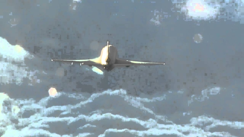 The original KC-10 spreading chemtrails spoof video
