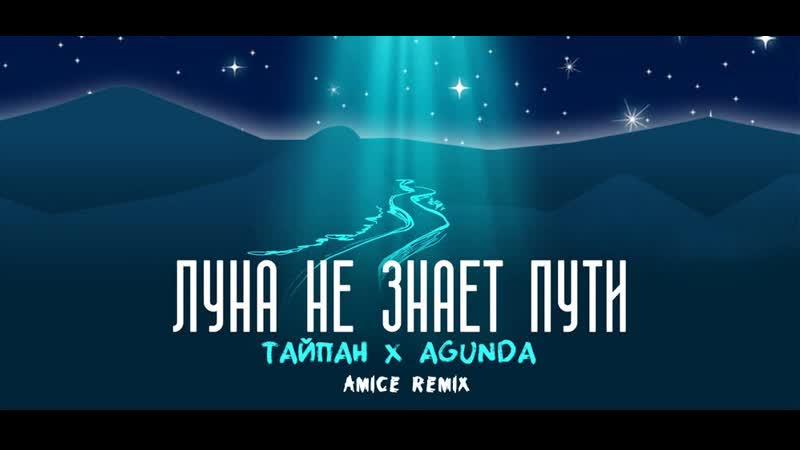 Тайпан Agunda - Луна не знает пути (Amice rmx) (VK Styles Video ver.)