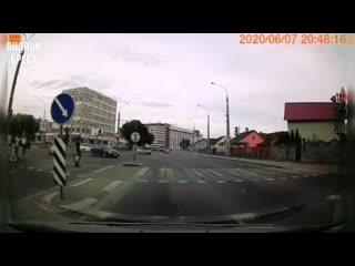 Вот так в Бресте ездят водители