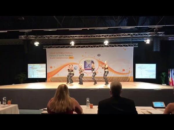 FISAF World Champions Aerodance Gangstas 2017