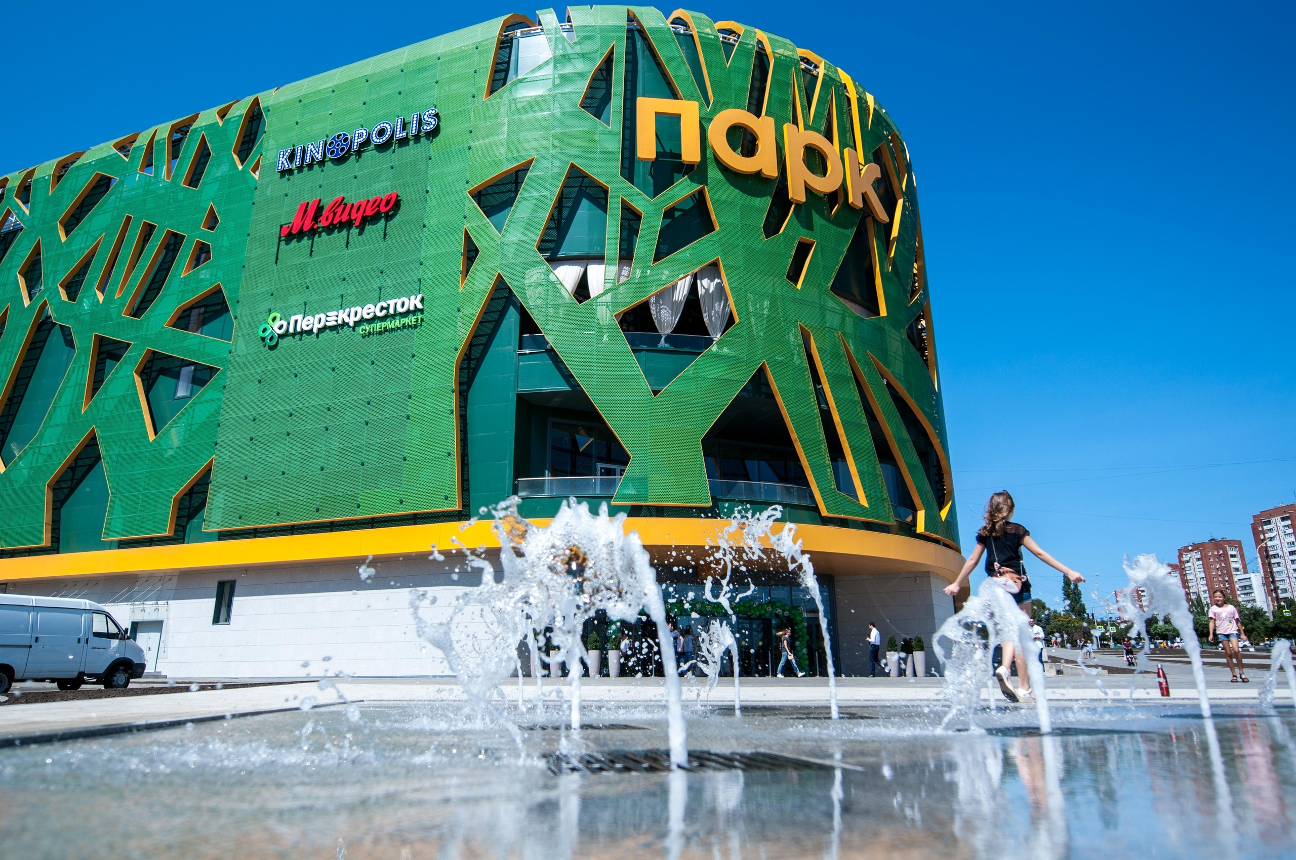 МТС обеспечила cвязью торгово-развлекательный центр «Парк» в Ростове