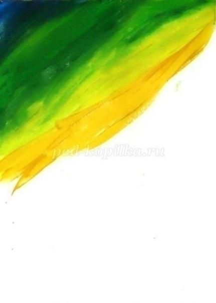 Рисуем одуванчики гуашью Автор: Наталья Александровна Ермакова