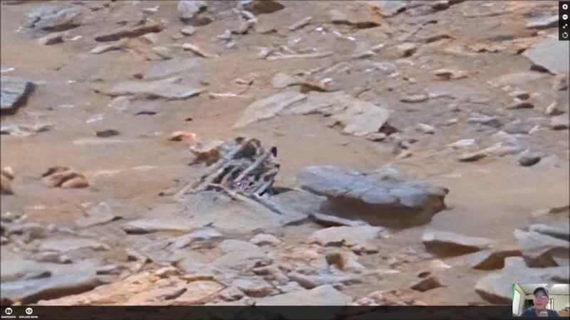 Хреновины торчат на Марсе С 2 20 Rebar Type Anomaly Found More Proof Of Past Intelligent Life On Mars 12 6 2019