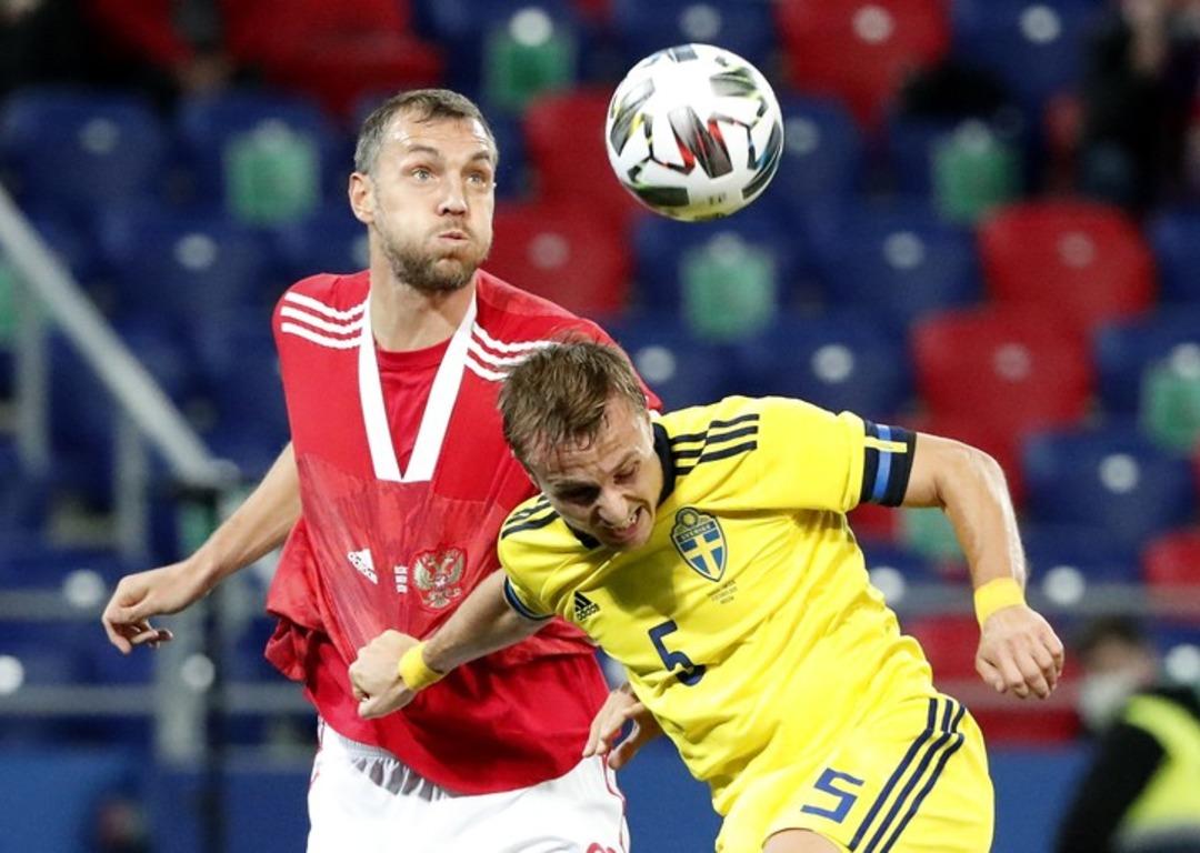 Россия - Швеция, 1:2. Артем Дзюба