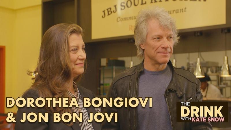 Jon Bon Jovi and Dorothea Bongiovi's philanthropic journey off the rock and roll stage