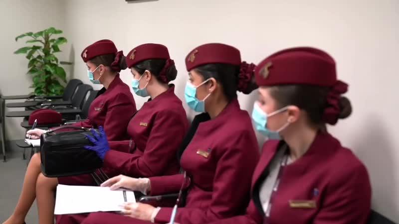 Возобновление полётов A350 1000 XWB Qatar Airways