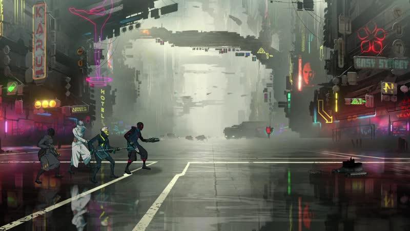 Neon District First Gameplay F2P Cyberpunk RPG дата выхода 1 июля 2020