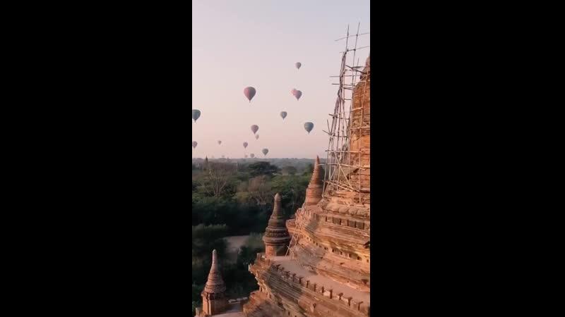 Великолепный город Баган, Мьянма