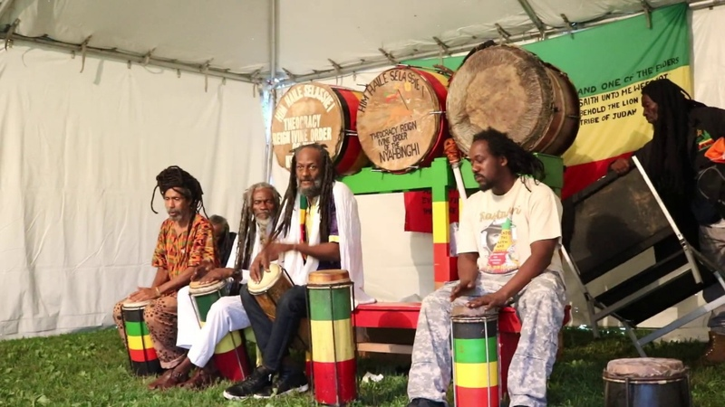STAND UP AND TELL I pt 2 CHANT OF RASTAFARI IN BROOKLYN JULY 23 2019