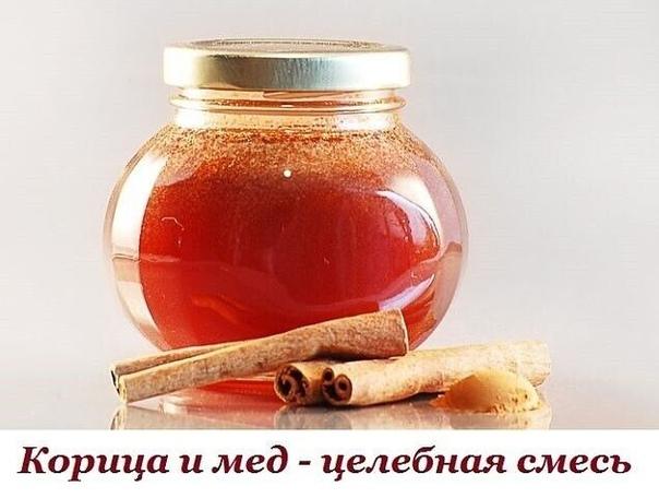 Корица и мед - целебная смесь!