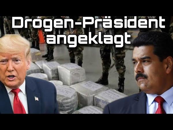 Anklage gegen Nicolas Maduro Drogen-Terrorismus und Korruption