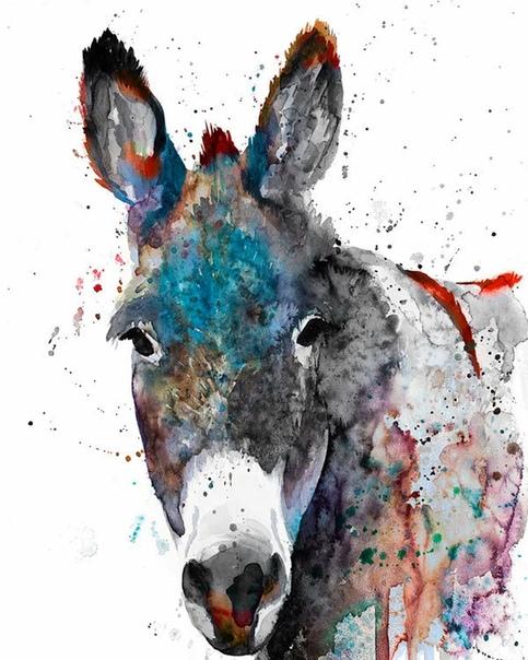 Славейка Аладжова (Slaveia Aladjova прекрасный акварюмист из Болгарии, посвятившая своё творчество портретам животных. Её работы близки к стилю