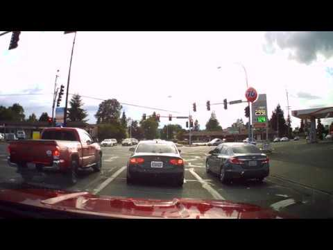 Lea Hill to Lakeland Hills Lake Tapps Full Speed Back Roads Auburn WA Out And Back POV