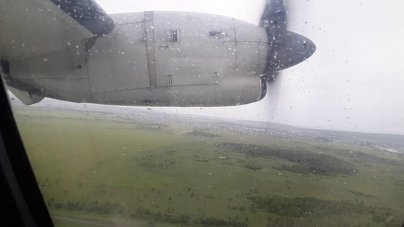 Полет на ATR 72 ВЫЛЕТ ИЗ ЕКАТЕРИНБУРГА