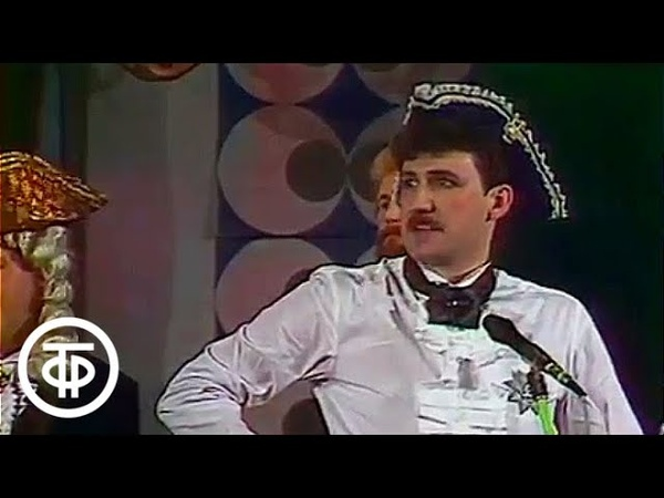 КВН 87 88 НГУ ЛМИ Третий четвертьфинал 1988 г