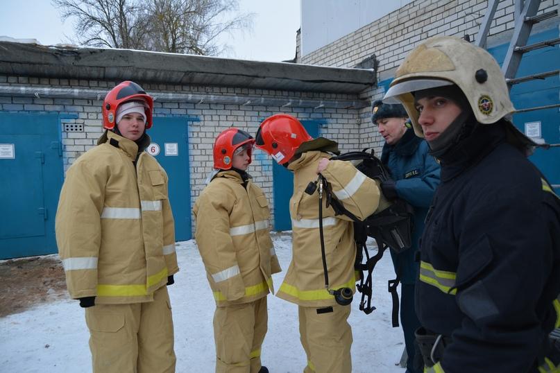 В Коврове прошел день открытых дверей посвященный 116-летнему дню рождения пожарного депо., изображение №8