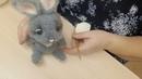 Вяжем Пасхального кролика, часть вторая , тело кролика и его детали .