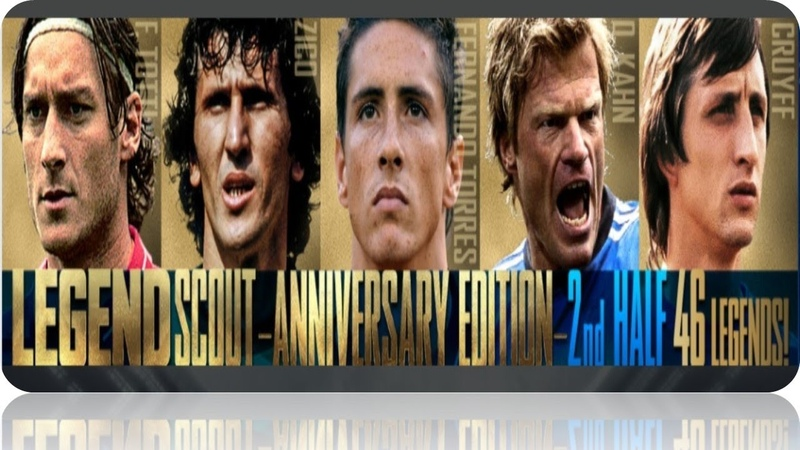 Legend Scout Anniversary Edition 2st Half Underway Pes Club Manager 2020 Part 59