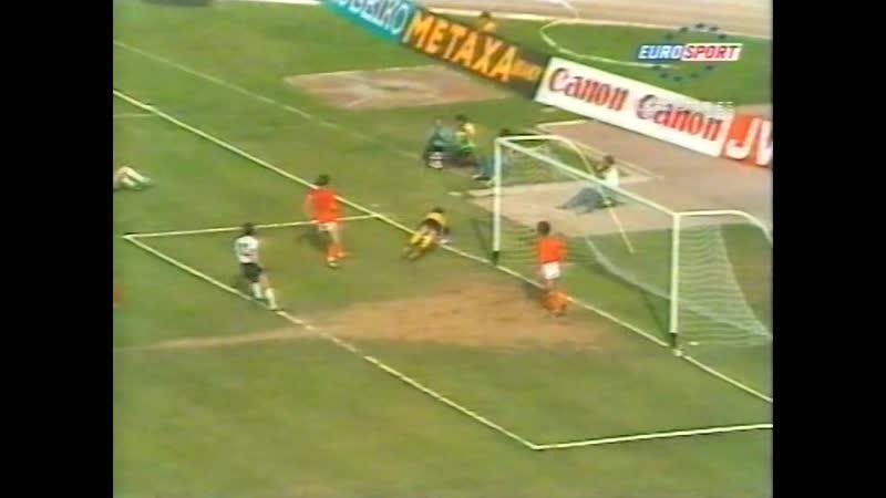ЕВРО 1980 - обзор турнира (Евроспорт).