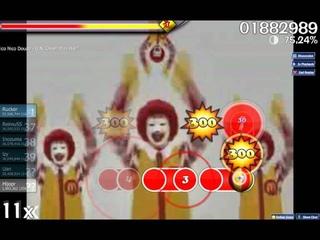 Osu! Nico Nico Douga - U.N. Owen Was Her (McDonald Remix)