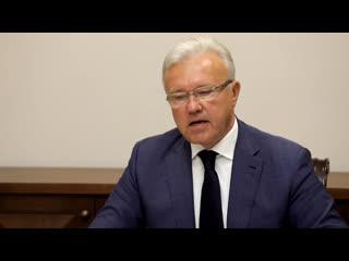 Александр Усс разбор ситуации по Норильску на заседании Оперштаба по предупреждению распространения коронавируса