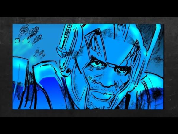 Doctor Who LOCKDOWN Comic Strip Fear Is a Superpower Страх это суперспособность