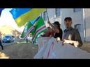 В Германии демонстранты встречают путинский кортеж криками - путин Убийца и Террорист