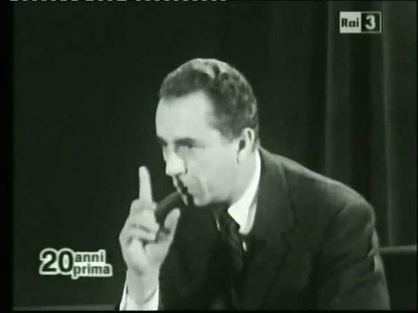 Michelangelo Antonioni parla di Mario Corso Sprint 25 3 1965
