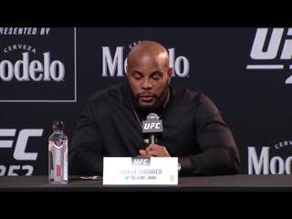 Стипе Миочич - Даниель Кормье 3 - Пресс конференция перед боем на UFC 252