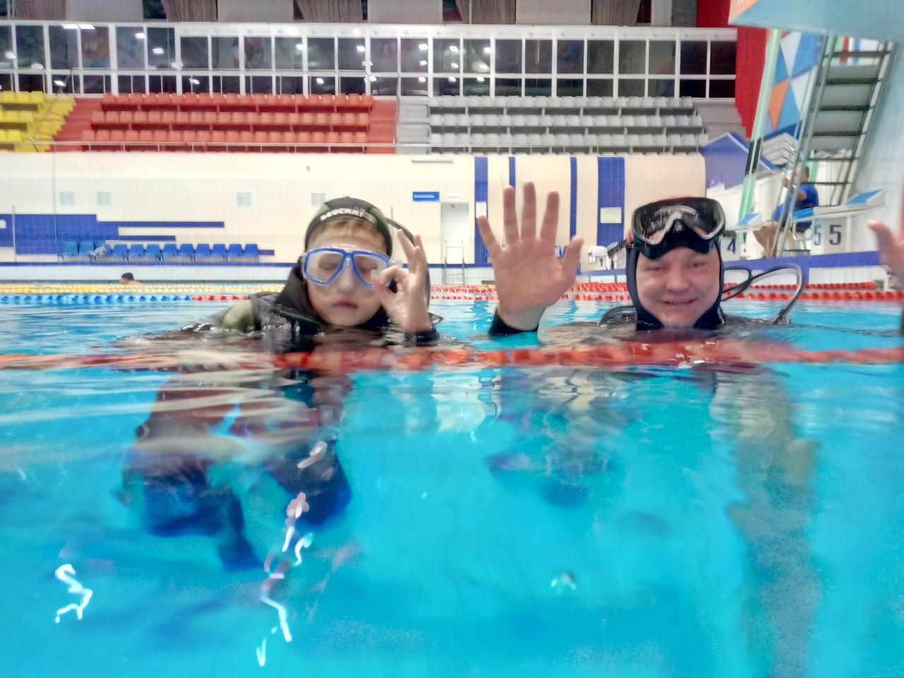 Афиша Челябинск Тренировки в бассейне