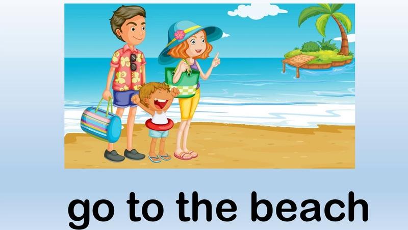 Talking flashcards Summer what do you like to do Говорящие карточки Лето английский для детей