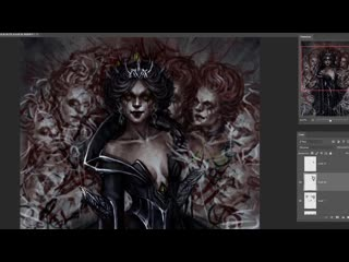 Speedpaint | Dark Queen