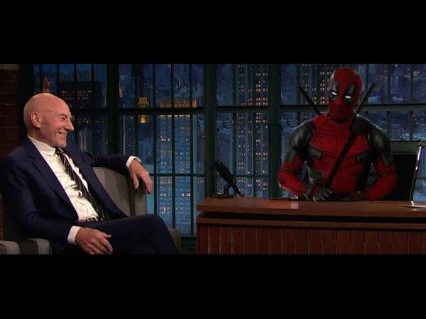 Deadpool's Late Night Talk Show Ryan Reynolds