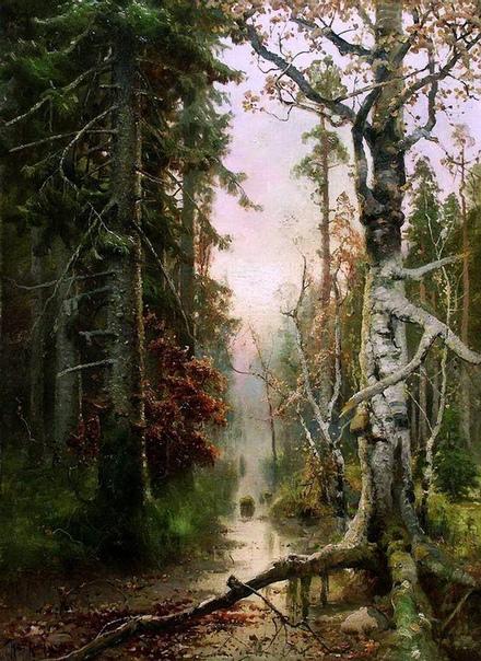 «Осень в лесу», Юлий Юльевич Клевер