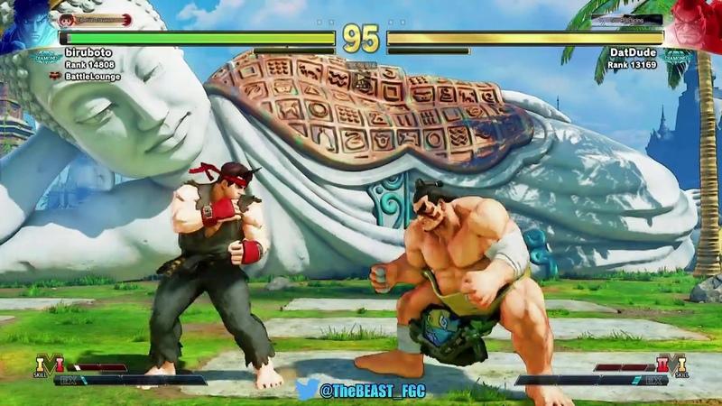 SFV ▶ M.Ross E.Honda【Street Fighter V】