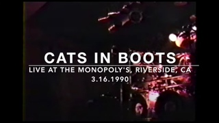 [Holla Channel Music - From The Vault Series] CATS IN BOOTS Live at The Monopoly's, Riverside, CA