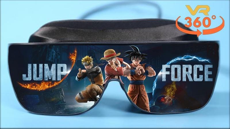 Jump Force VR 360° 4K Virtual Reality Gameplay